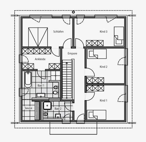 Exterieur - Massivhaus - Designhaus - Architektenhaus - creativehaus
